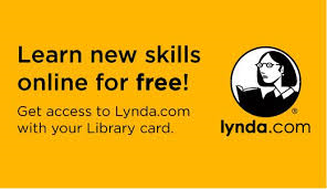 Learn new skills online for free! Get access to Lynda.com with your Library card.