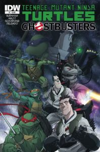 TMNT/Ghostbusters 1 Cover