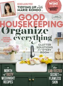 Magazine cover for Good Housekeeping