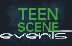 At the Teen Scene, April equals Eggs! Escape! Expression!