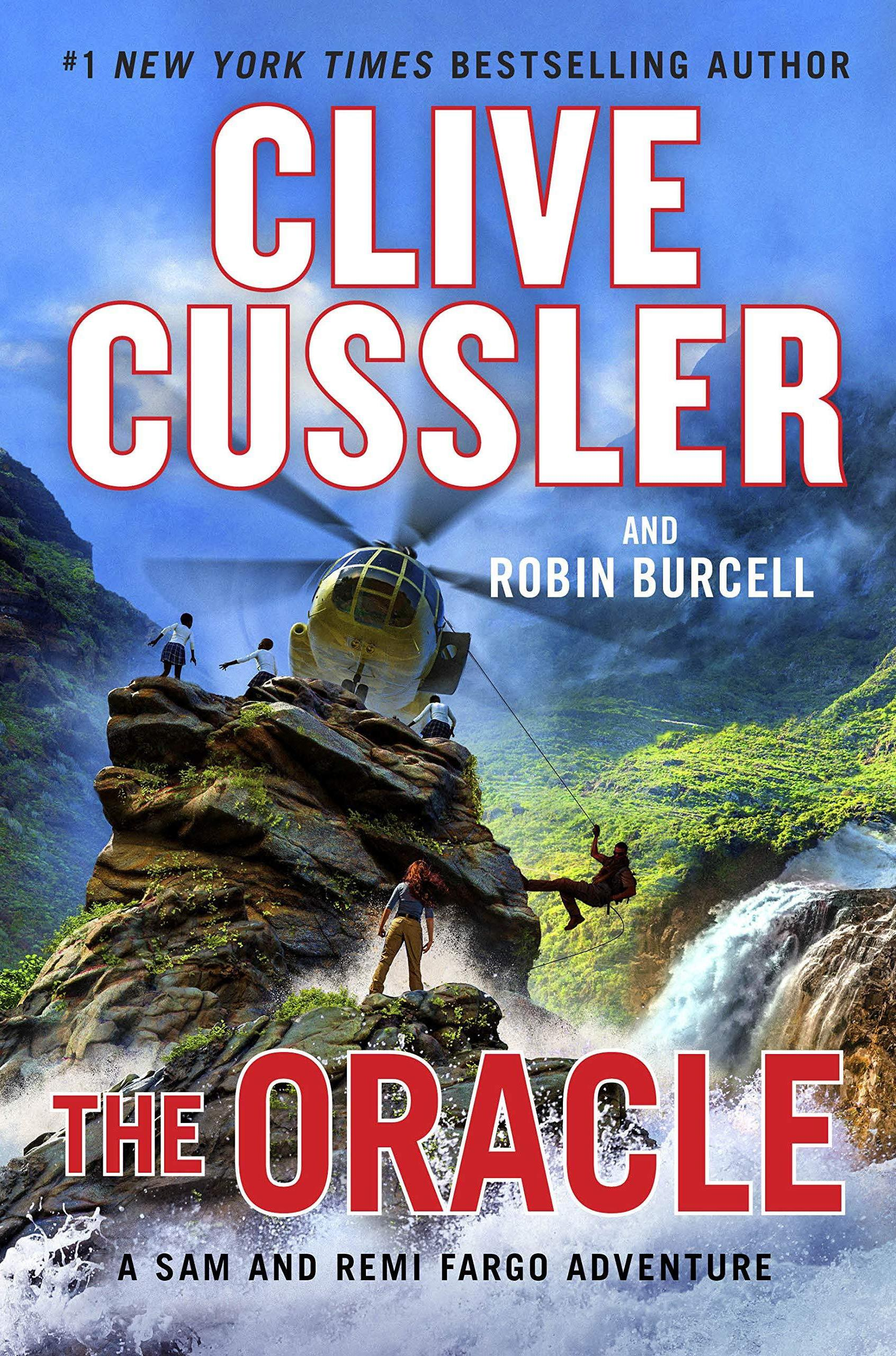 Book cover for The Oracle by Clive Cussler