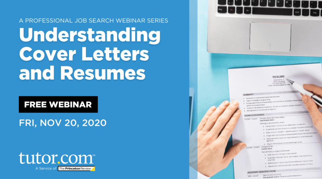 Understanding Cover Letters and Resumes: A Professional Job Search Webinar