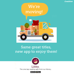 Digital Magazines and Comics moving to Libby app