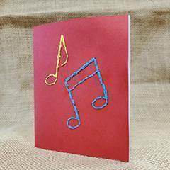 June Make-It Take-It: Embroidered Notebook