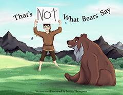 """""""That's Not What Bears Say"""" book cover"""