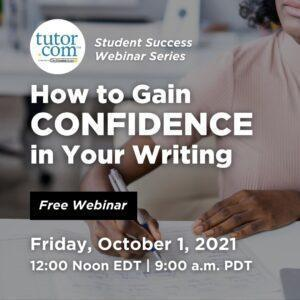 How to Gain Confidence in Your Writing